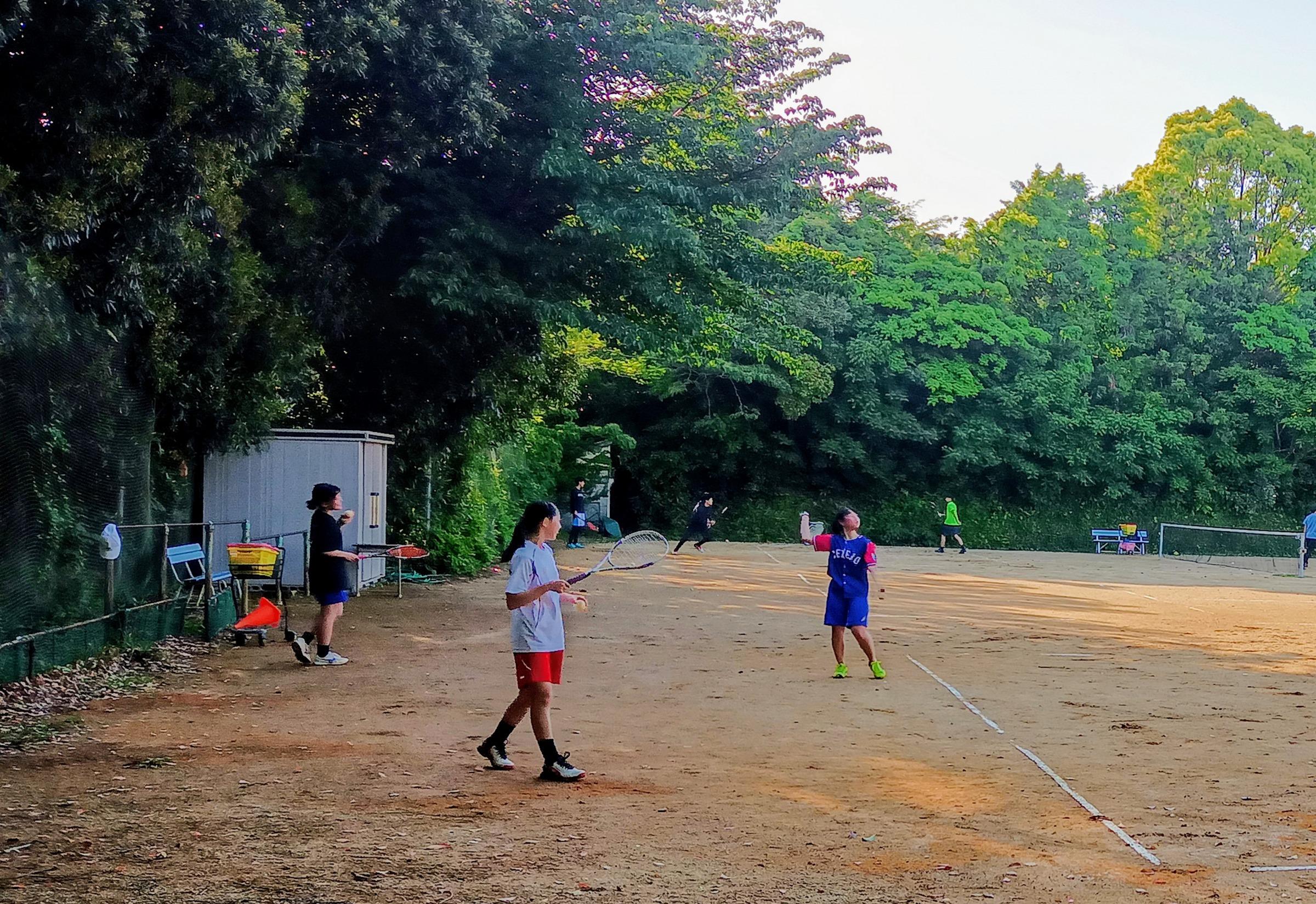 中学校ソフトテニス部