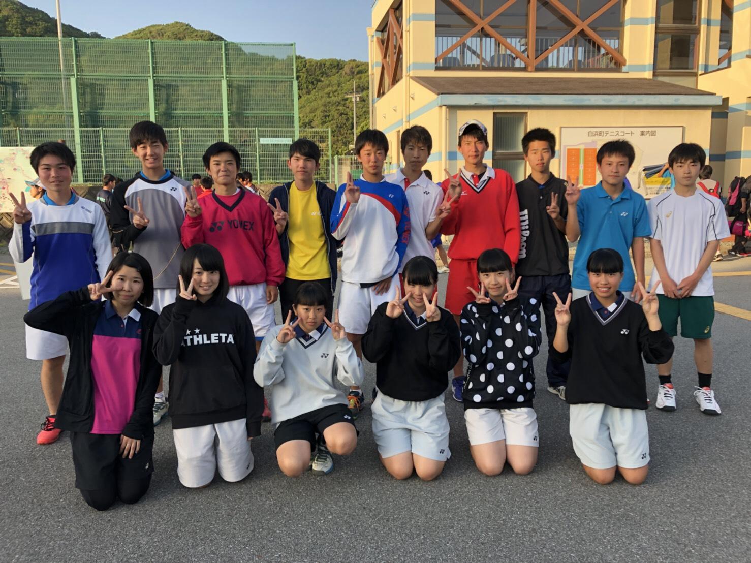 高校ソフトテニス部